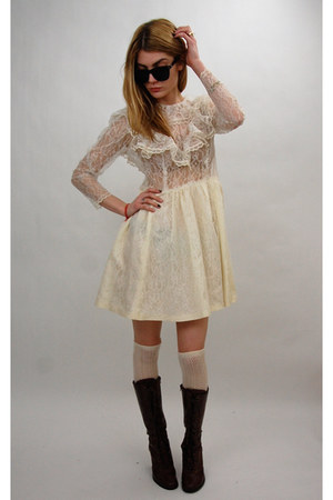 ivory vintage from Rock Paper Vintage dress