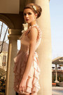 Ruffled-chiffon-the1727-dress