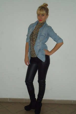 Zara blouse - Zara pants - shirt