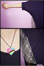 Black-rosebonbon-blazer-pink-forever21-necklace-black-leggings-black-shoes