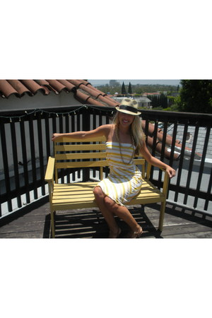 striped Veronica M dress