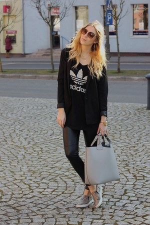 Zara bag - Adidas t-shirt