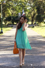 Aquamarine-thrifted-dress-orange-sm-parisian-bag-beige-syrup-pumps