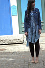 Blue-robyn-denim-ag-jeans-jacket-sky-blue-rebecca-taylor-dress