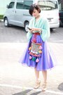 Orange-wool-bag-aquamarine-zara-top-violet-vintage-skirt