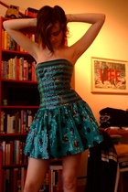 blue Betsey Johnson dress