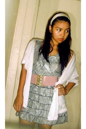 shirt - dress - belt