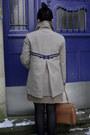 Light-brown-topshop-coat-navy-bata-shoes-tawny-topshop-bag-brown-zara-dres