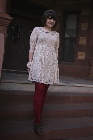 Forever 21 dress - DKNY tights