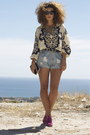 Bag-oysho-shorts-zara-heels
