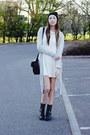 Shoe-zone-boots-glamorous-dress-primark-hat-glamorous-bag