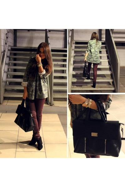 Stradivarius bag - Lefties shirt