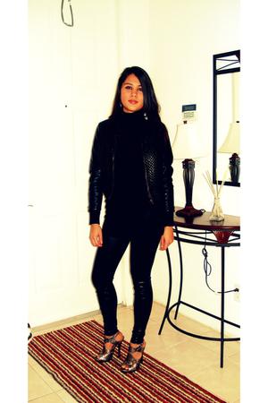black Kimchi&Blue jacket - black Express leggings