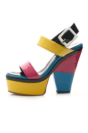 Colour of Cocktail sandals