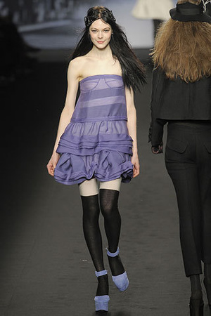 purple Sonia Rykiel dress