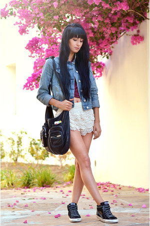denim jacket rag & bone jacket - slouchy Alexander Wang bag
