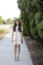 ivory tv eyes Cameo the label dress - eggshell marion Alexander Wang bag