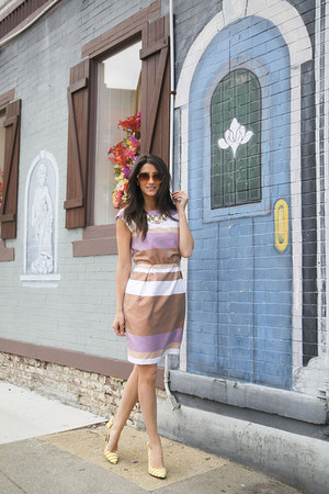 Ivy & Blu dress - Loft sunglasses - DSW heels