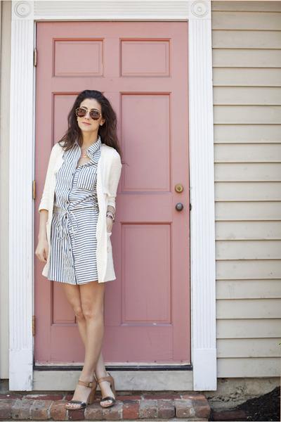 Paige Denim dress - Zara jacket - C Wonder sunglasses - TJ Maxx heels
