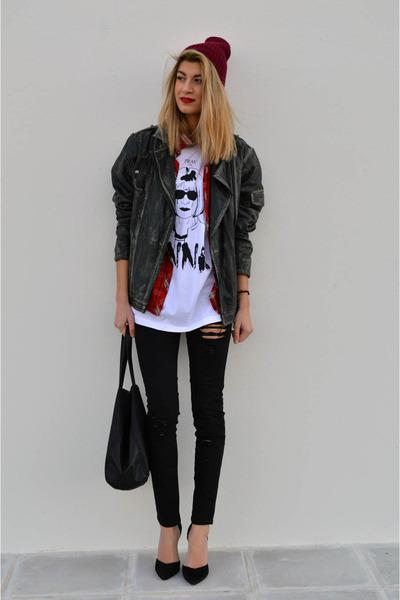 gestuz jacket - Zara heels