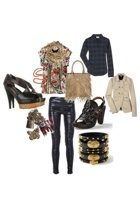 Marni shoes - Miu Miu jacket - La Garconne blouse - Elizabeth and James shirt -