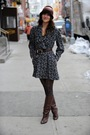 Gray-vintage-dress-vintage-boots-brown-vintage-hat-gold-clydes-rebirth-acc