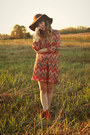 Tawny-samantha-pleet-x-wolverine-1000-mile-boots-tawny-sosie-dress