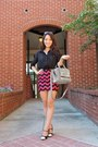 Black-kate-spade-bag-black-oversized-coach-sunglasses-hot-pink-joy-han-skirt