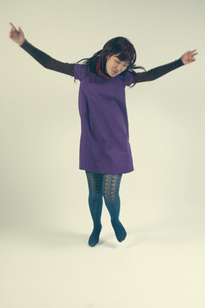 MNG dress - Alannah Hill tights - Cue sweater