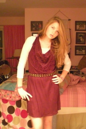 Urban Outfitters dress - Target t-shirt - Forever21 belt