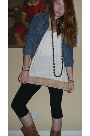 Hydraulic jacket - Urban Outfitters shirt - hollister necklace - Forever21 leggi