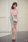 Clutch-sm-accessories-bag-loafer-asian-vogue-pumps-peplum-cotton-on-skirt
