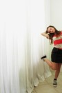 American-apparel-shirt-forever-21-skirt-converse-shoes