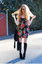 floral print boutique dress