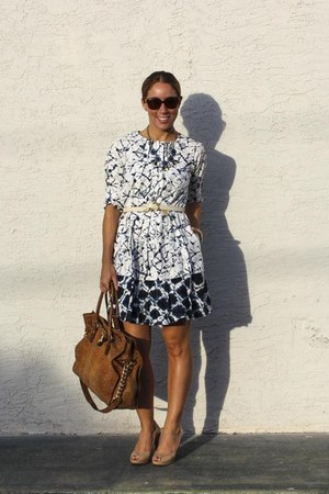 Target belt - Thakoon for Target dress - Michael Kors bag - Cole Haan pumps