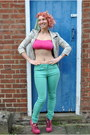 Aquamarine-skinny-mint-falmers-jeans-off-white-river-island-jacket