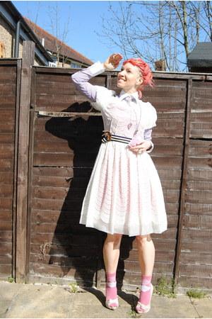 light purple Lucy Adams Bespoke shirt - light pink KG shoes