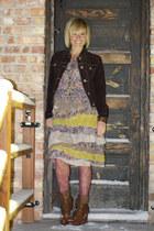 Target boots - ruffle dress white chocolate dress