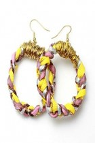 Fabric-braided-earrings