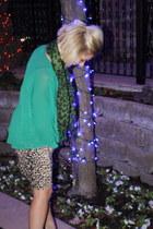 boyfriend shirt Forever 21 top - leopard Forever 21 dress