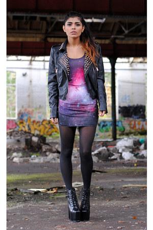 Missguided jacket - Romwecom dress