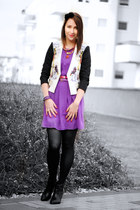 studs Zara shoes - flowers H&M jacket