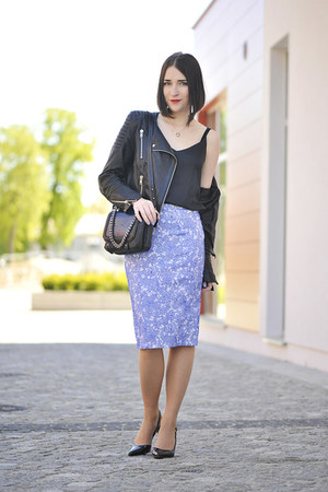 lace new look skirt