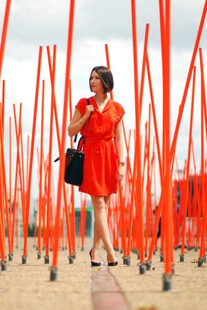 orange Mohito dress