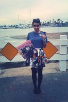 California Select shirt - skirt - sunglasses