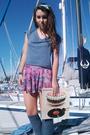 Blue-skirt-blue-american-apparel-american-apparel-accessories