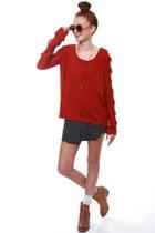 Brick-red-sweater