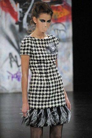 silver Miu Miu dress