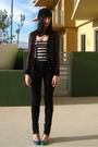 Black-rodarte-for-target-cardigan-black-urban-outfitters-jeans-blue-rocket-d