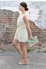 Off-white-tulle-dress-light-pink-lulus-bag-beige-blowfish-wedges